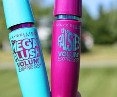 I love these two mascaras together! I use the blue one first they are the perfect combo!