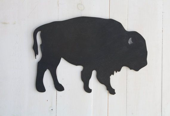 Buffalo Chalkboard Home Decor by 163DesignCompany on Etsy