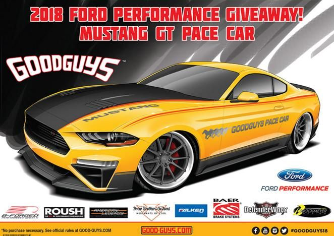 Goodguys Ford Performance Mustang GT Giveaway – Win Mustang