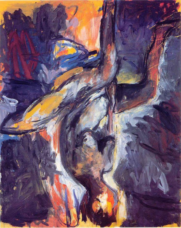 'Elke VI' (1976) by Georg Baselitz (inverted motif)