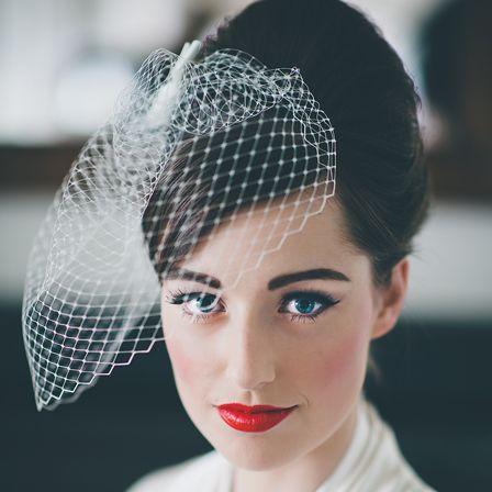 Swell 1000 Ideas About 50S Wedding Hair On Pinterest Wedding Hairs Short Hairstyles For Black Women Fulllsitofus
