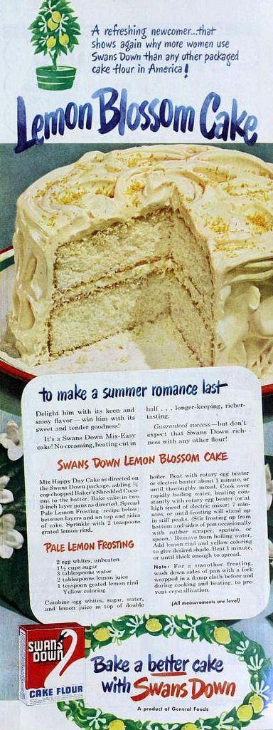 Lemon Cake Pie Ladies Home Journal