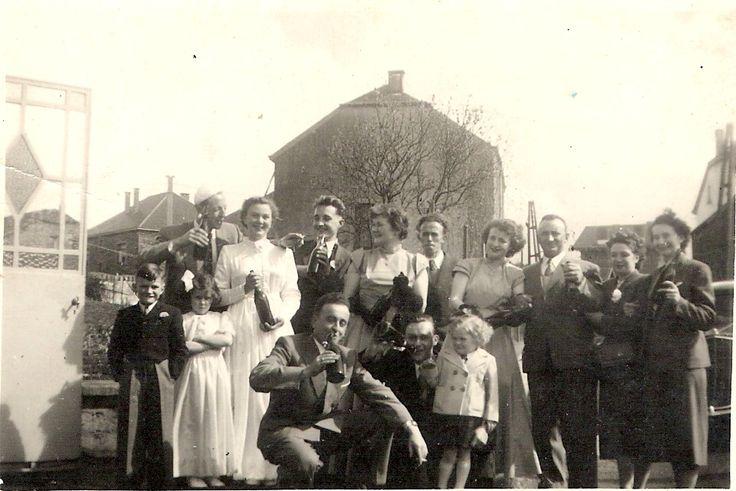 My parents wedding in 1954