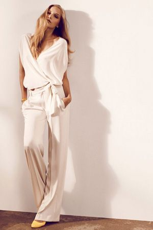 brides of adelaide magazine - white pantsuit - wedding dress