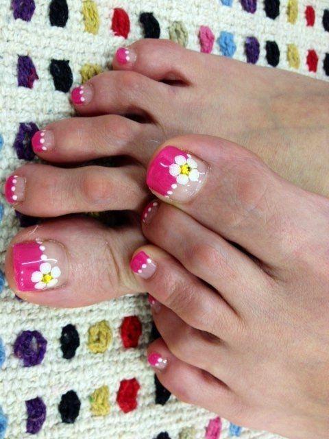 Pretty Pedicure Nail Art Designs - Nail styles and Nail Polish | Daily Nail