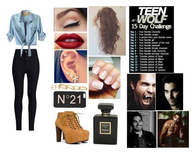 """Teen Wolf Challenge: (6) Favorite werewolf"" by megan-malik33 ❤ liked on Polyvore"