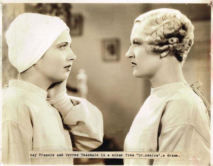 Kay Francis  Verree Teasdale Dr Monica 1934