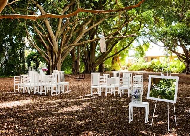 Secret Garden Ceremony | The Bride's Tree - Sunshine Coast Wedding