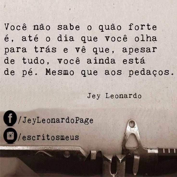 """2,025 curtidas, 17 comentários - Jey Leonardo (@escritosmeus) no Instagram: """"Sobre(vivendo)"""""""