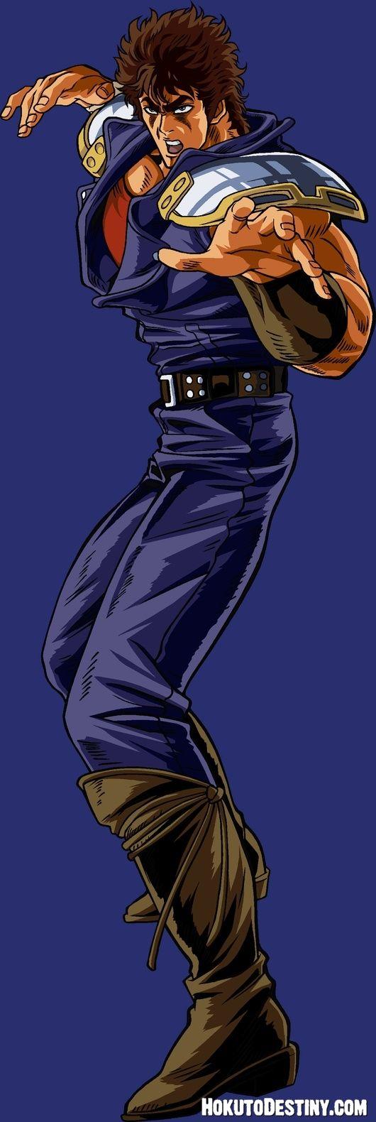 Kenshiro from Hokuto no Ken/ Fist of the North Star.
