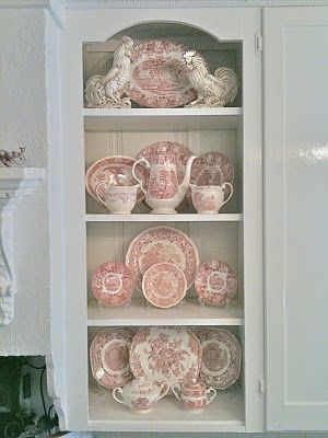 toile dishes