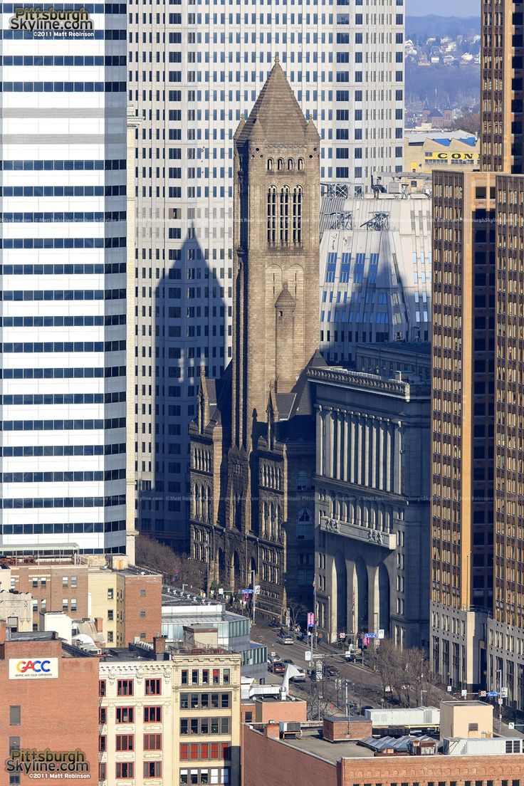 Allegheny County Courthouse. PittsburghSkyline.com Photography by Matt Robinson
