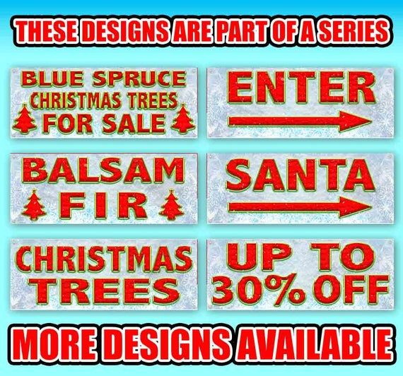Up To 95 Off 13 Oz Heavy Duty Vinyl Banner Sign With Metal Grommets New Store Advertising Flag In 2020 Vinyl Banners Christmas Tree Sale Outdoor Vinyl Banners