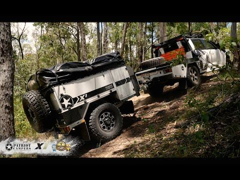 Patriot Campers X1 - 2016 WINNER Offroad Camper Trailer of the Year 2016 - YouTube