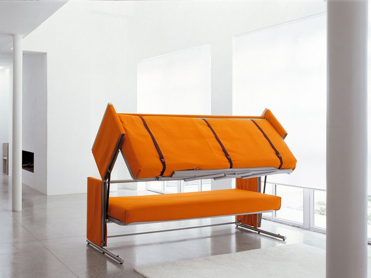 Innovative Multifunctional Sofa Transforms into Bunk Beds in 12 Seconds by  Architect Giulio Manzoni