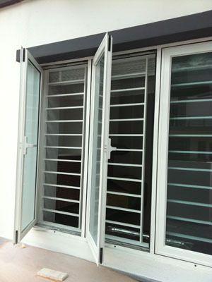 Pros And Cons On Using Aluminium Window Grill #windowgrill #renovation #window