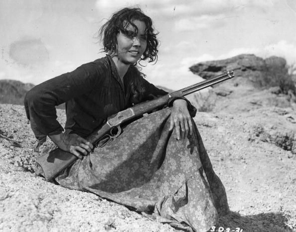 DUEL IN THE SUN (1946) - Jennifer Jones as halfbreed 'Pearl Chavez' - Produced by David O. Selznick - Directed by King Vidor - Selznick International - Publicity Still.