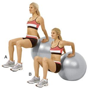 A Killer Exercise Ball Workout All you need to get in shape is an exercise ball