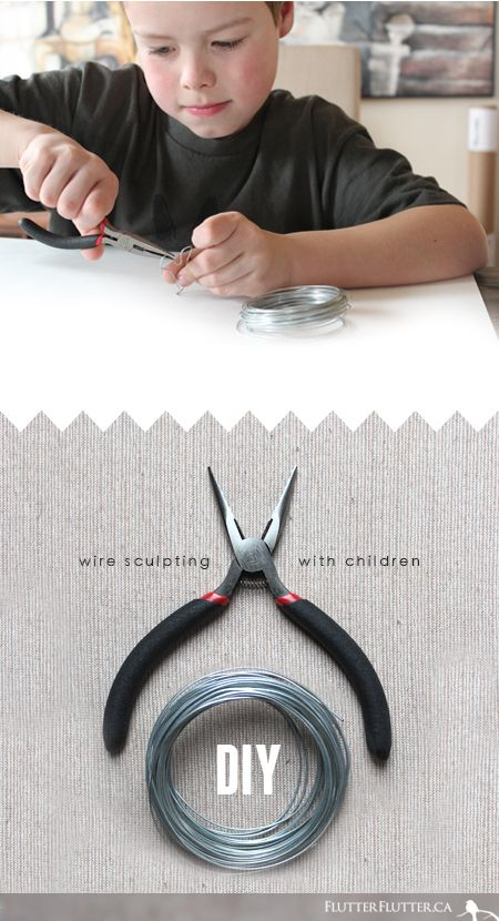 Wire Sculpting DIY…
