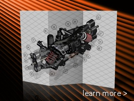 Create technical illustrations and product animations from 3D CAD.
