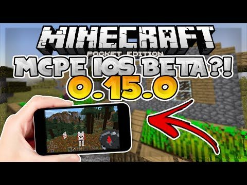 MCPE 0.15.0 BETA FOR iOS!! // 0.15.0 MCPE Update News - Minecraft PE (Pocket Edition) - YouTube