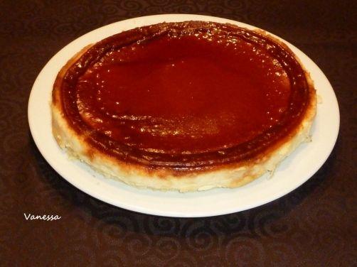 Tarta de queso con caramelo para #Mycook http://www.mycook.es/receta/tarta-de-queso-con-caramelo/
