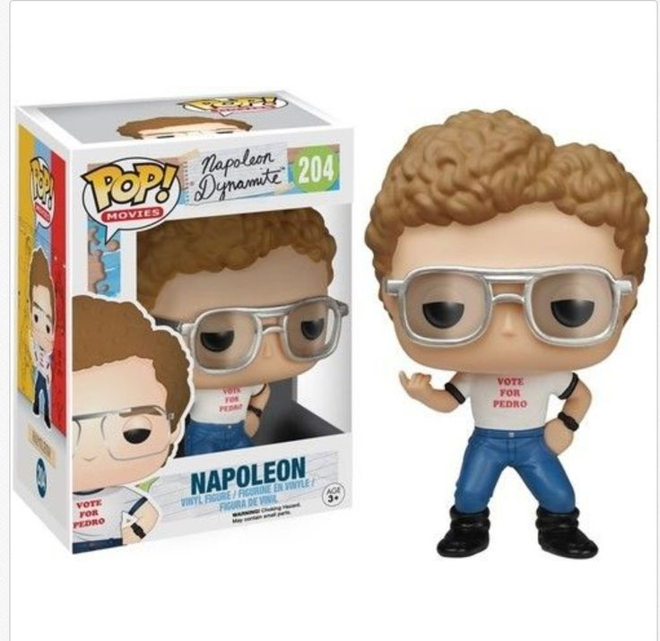 Officially Licensed Napoleon Dynamite - Napoleon Funko Pop! Movies Toy