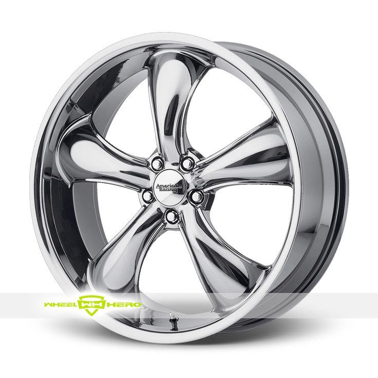 American Racing AR912 TT60 Chrome PVD Wheels For Sale & American Racing AR912 TT60 Rims And Tires