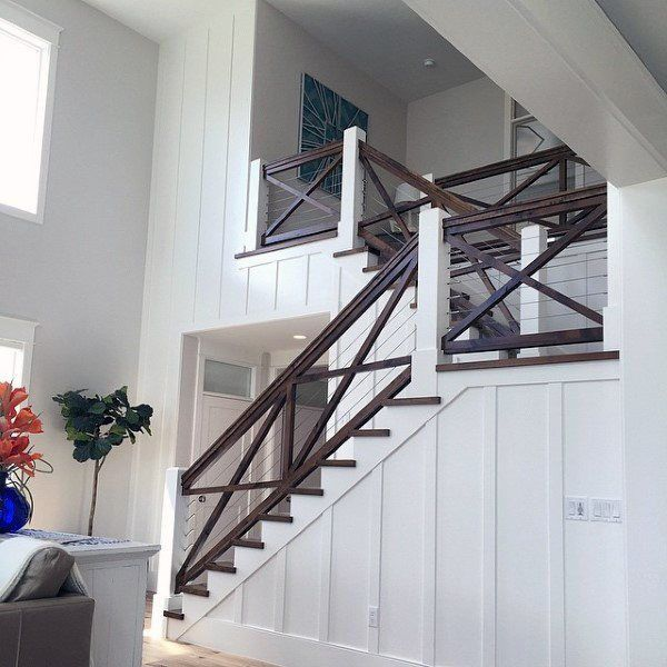 Extraordinary Stair Railing Replacement Ideas Just On Interioropedia Home Design Stairs Design Staircase Design Coastal Living Rooms