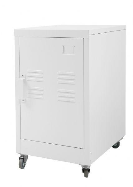 Small Locker Cabinet  - White