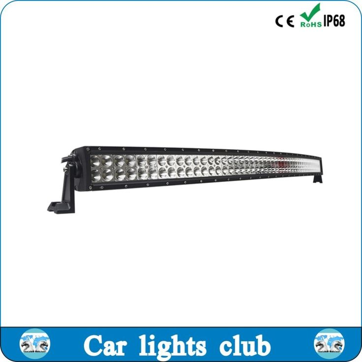 50inch 288W Double Row Curved LED Light Bar