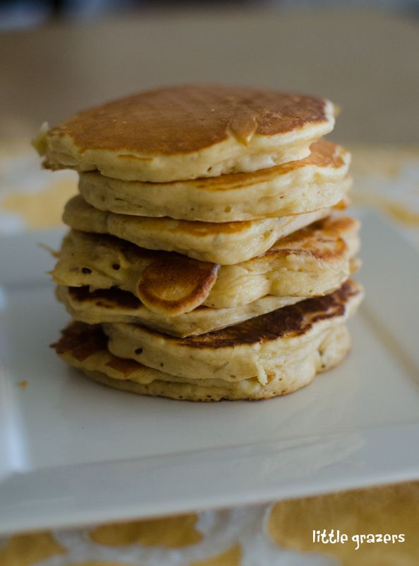 Banana pancakes for little ones