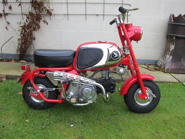 1964 honda 50cc cz100 39 monkey bike 39 frame no 500416. Black Bedroom Furniture Sets. Home Design Ideas