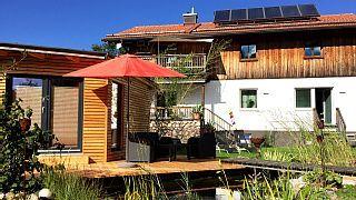 Ferienwohnung+im+modernen+HotelDesign+mit+Terrasse,+Garten,+Fitness+&+Sauna+++Ferienhaus in Chiemgau von @homeaway! #vacation #rental #travel #homeaway
