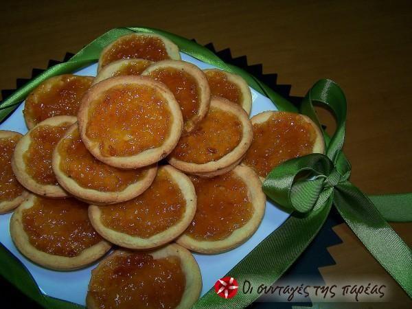 Μπισκότα με μαρμελάδα βερίκοκο πανεύκολα #sintagespareas