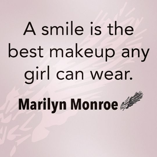 Makeup quotes marilyn monroe
