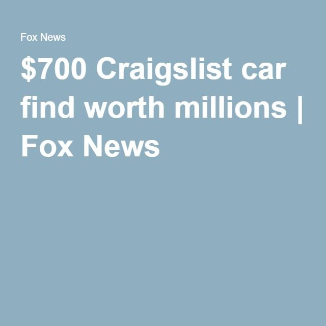 1000+ Ideas About Craigslist Cars On Pinterest