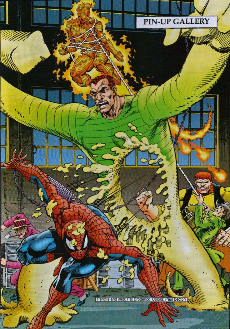 Spidey & The Torch vs Sandman & The Enforcers