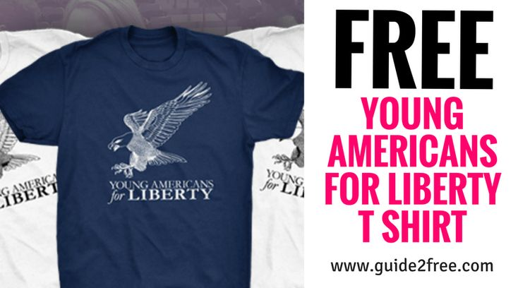 Get aFREE Young Americans for Liberty T Shirt! Just fill out the form with your shirt size. Not sure if it will come but worth a shot.Young Americans for Liberty (YAL) is the largest, most active, and fastest-growing pro-liberty organization on America's college campuses. With more than 900 YAL chapters and 308,927 youth activists nationwide