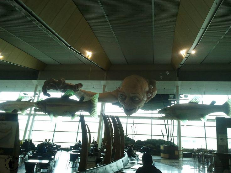 Ein bisschen aus dem Nähkästchen // Flughafen Wellington