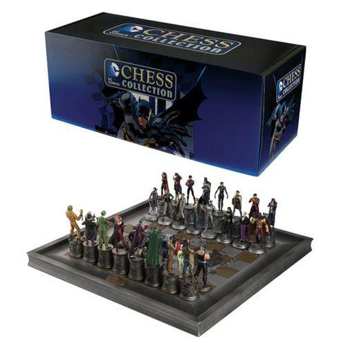 DC Comics Complete Batman Chess Set