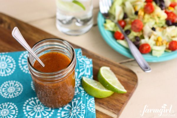 Chipotle's salad dressing - finally.  I made it this week and it really does taste the same!