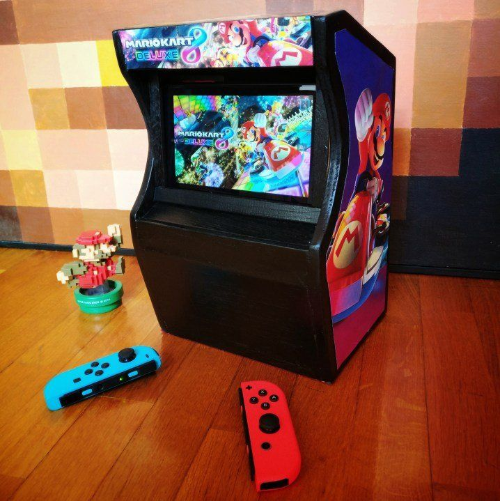 Mario Kart 8 Deluxe Arcade cabinet for Nintendo Switch by Filippo