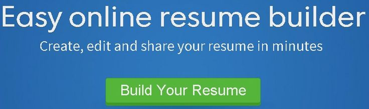 Free Resume Builder LABOR Pinterest Resume builder and - build your resume online free