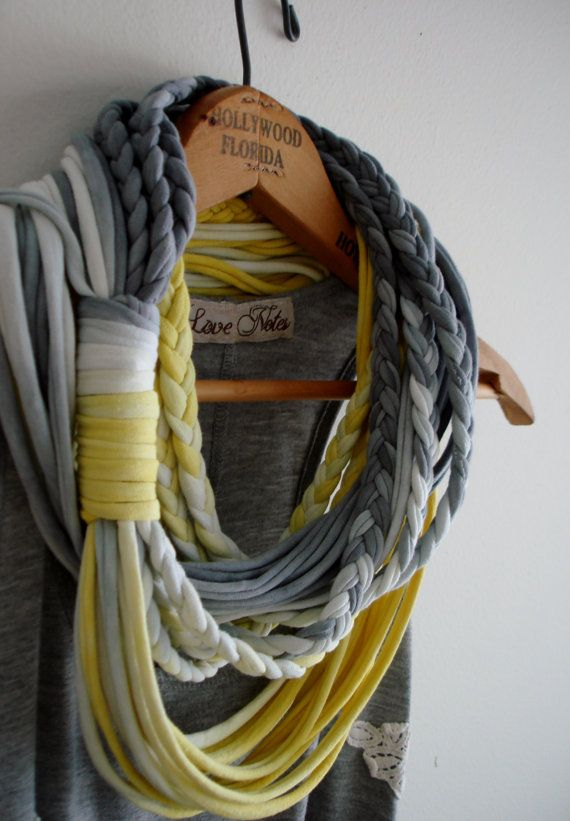 String Theory Multi string infinity scarf in by KillPrettyPlease, $30.00