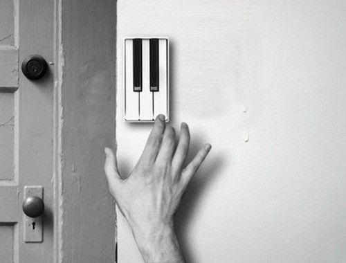 Pianobell (door bell).