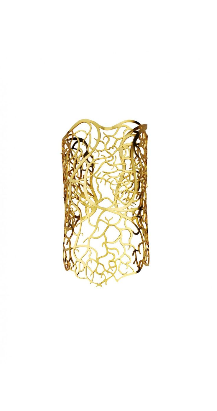 Gold Through My Veins Small Cuff #EinaAhluwalia