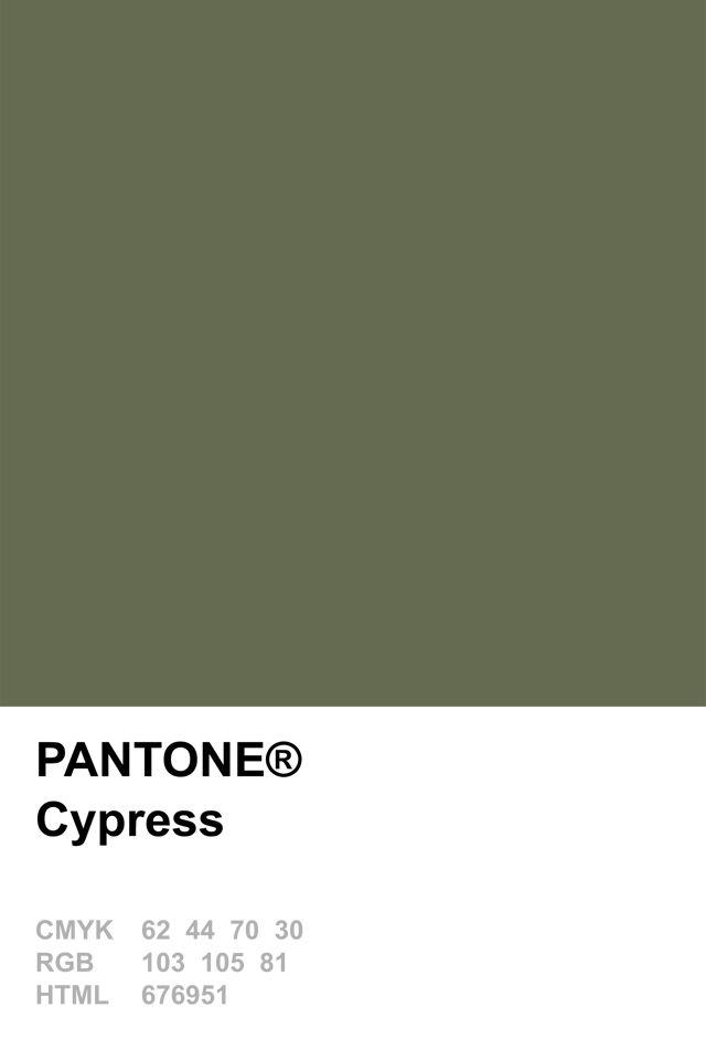 Pantone 2014 Cypress