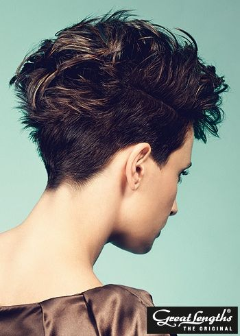 Short hair haircuts for women 2013