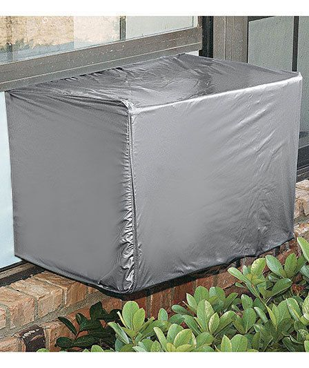 Air Conditioner Cover Large Unit Window Wall Protect Fall Clean Up Stop Drafts